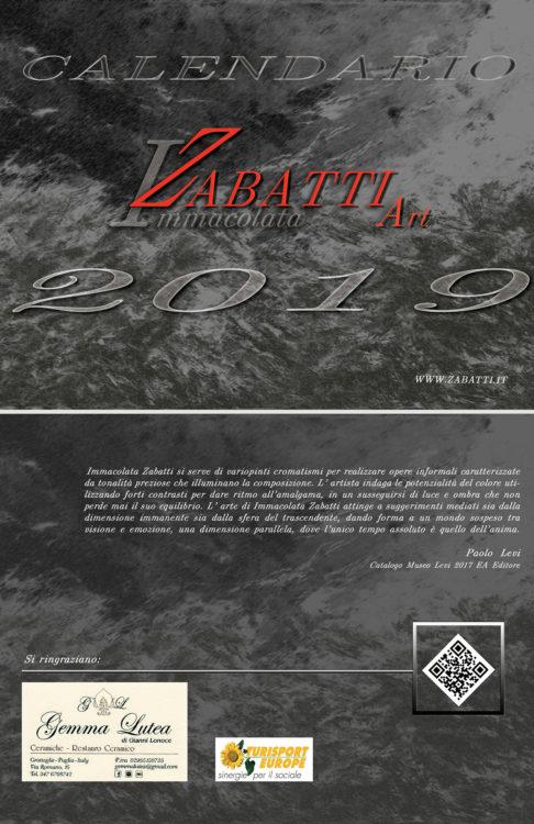 Calendario 2019 Zabatti